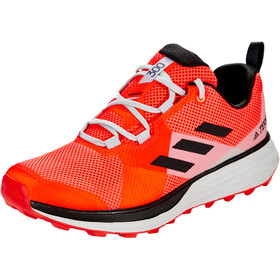 adidas TERREX Two Zapatillas Trail Running Hombre, solar red/core black/grey two